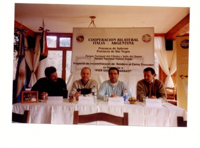 Accordo Parchi Nazionali Argentini e Provincia di Salerno e Parco NCVD  Bariloche agosto 2003