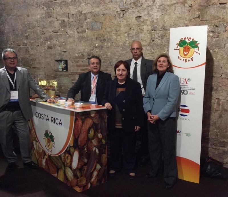grupo CR Stand Eurochocolate 2016
