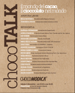 chocotalk-programma